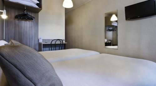 TourHôtel Blois – Klassic Zweibettzimmer